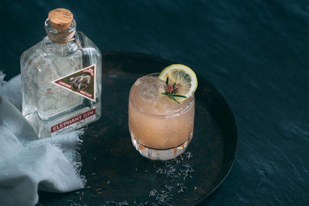 cocktail irene nel suo bicchiere