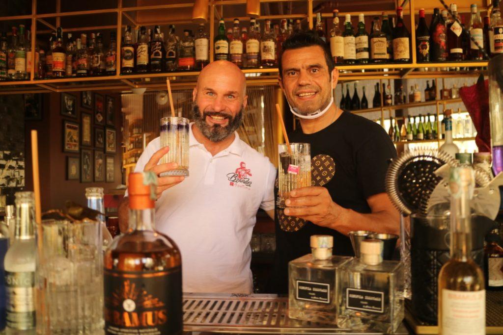I bartenders Luca Azzolina e Charles Flamminio