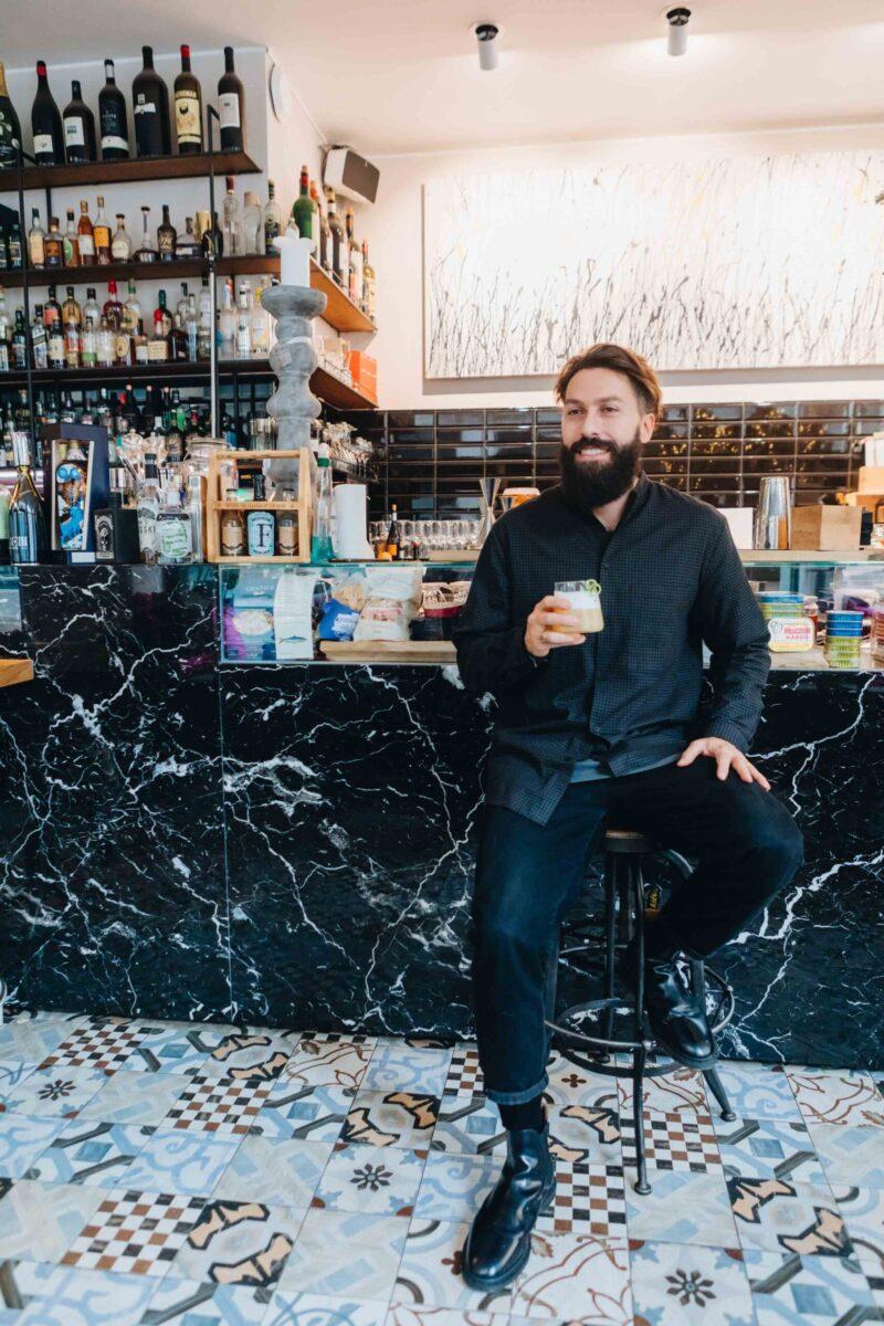 Bartender Gabriele Stillitani