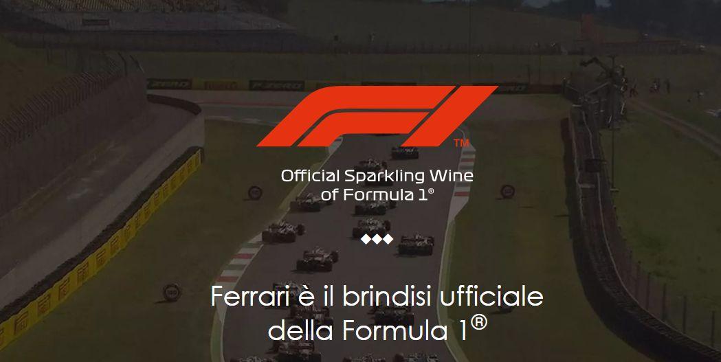 Ferrari Trento spumante partnership F1
