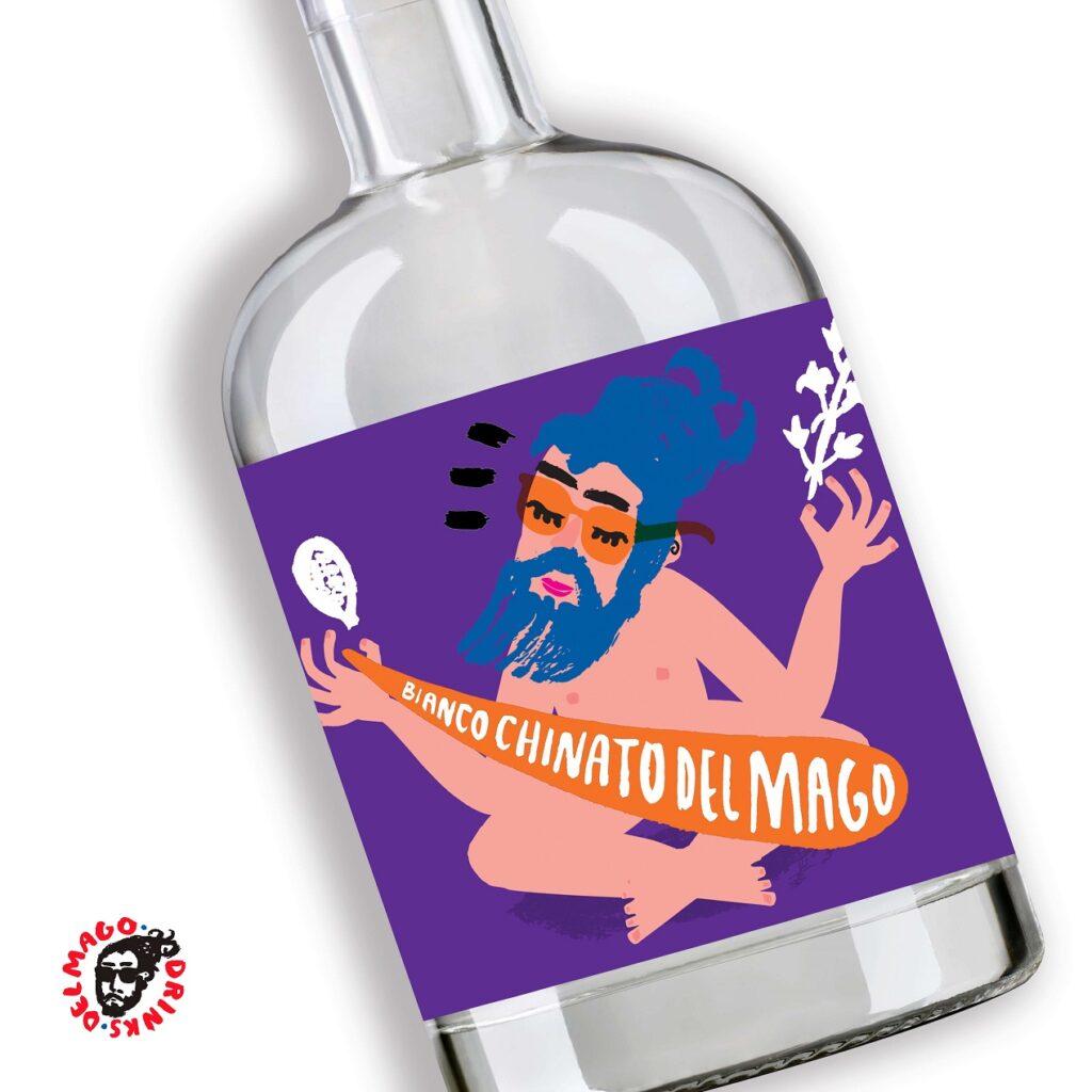 Bianco Chinato DelMago Drink, bottiglia