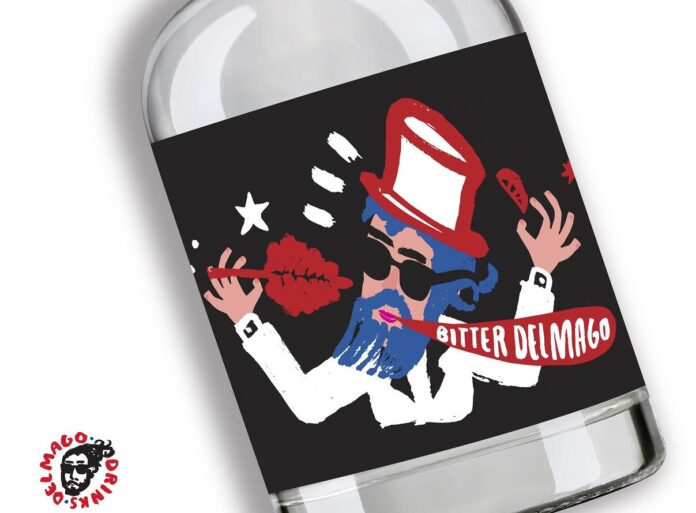 Bitter DelMago Drink, bottiglia