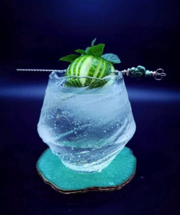 Gin and Tonic with a twist