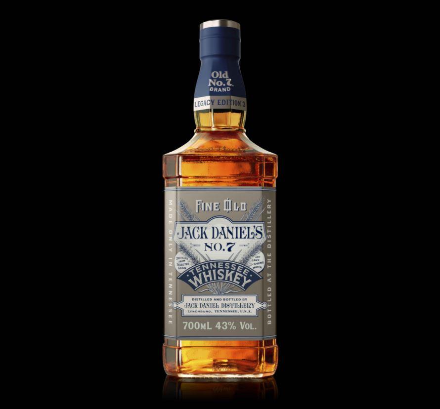 Jack Daniel's Legacy Series 3, bottiglia