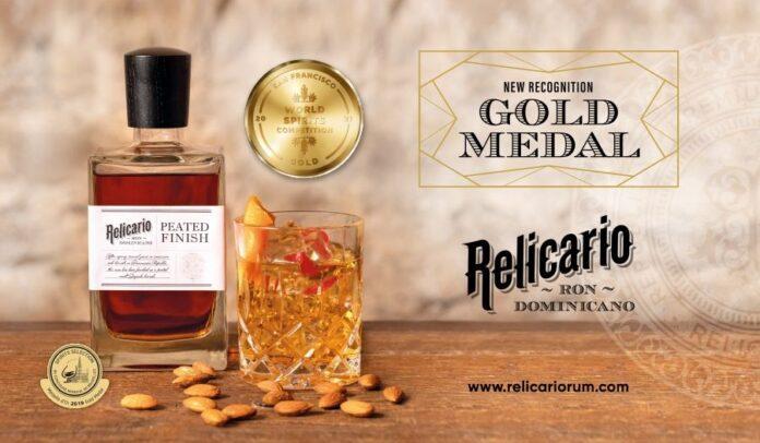 Relicario Peated Finish Mercanti Spirtis, golden medal