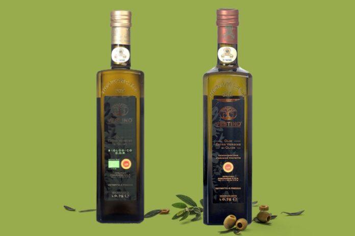 olio vestino bottiglie