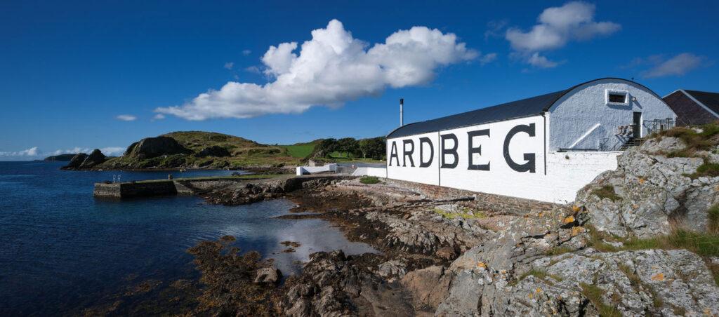 Ardbeg, distilleria Scozia