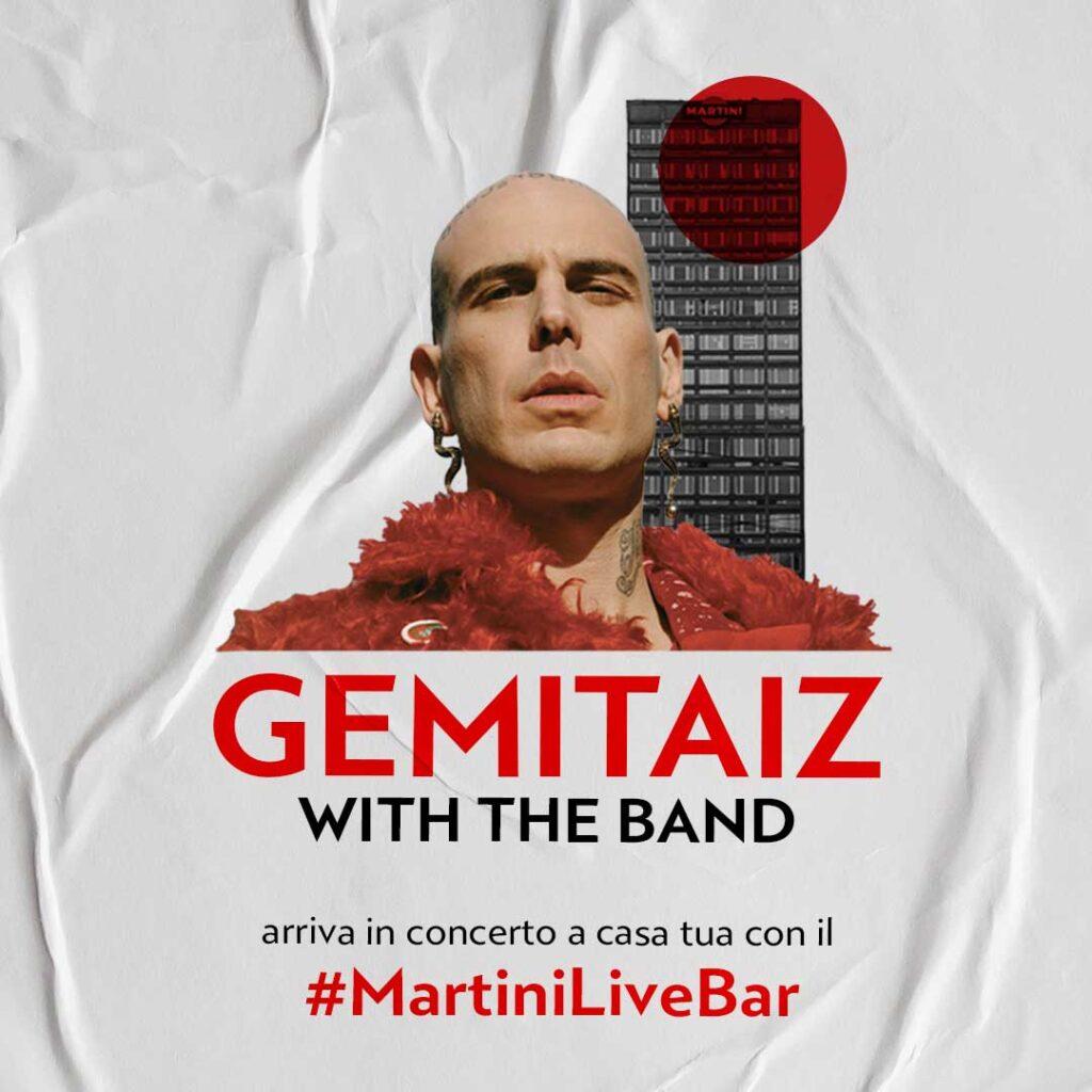 GEMITAIZ al Martini live Bar, poster