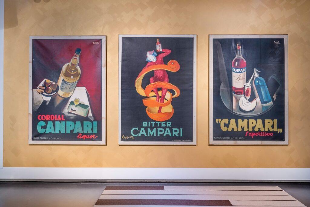 Galleria Campari, esposizione