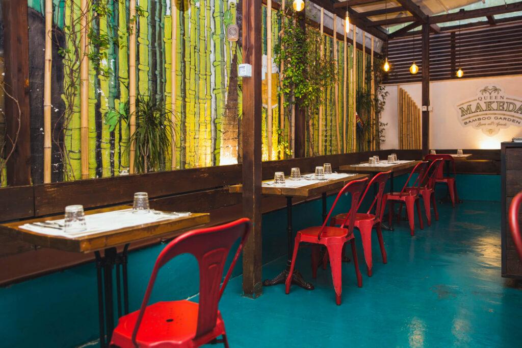 Queen Makeda Grand Pub Bamboo Garden