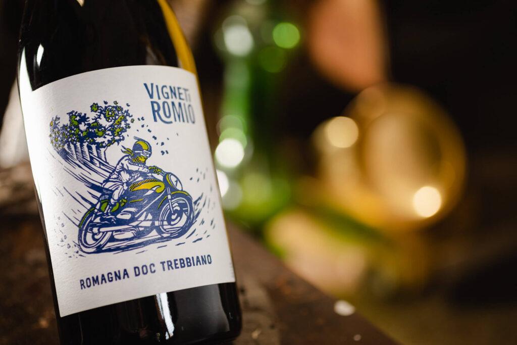 Romagna Doc Trebbiano Vigneti Romio etichetta