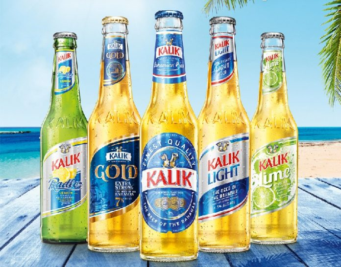 Birra Bahamas: Radler, Gold Kalik, Kalik, Kalik Light, Lime
