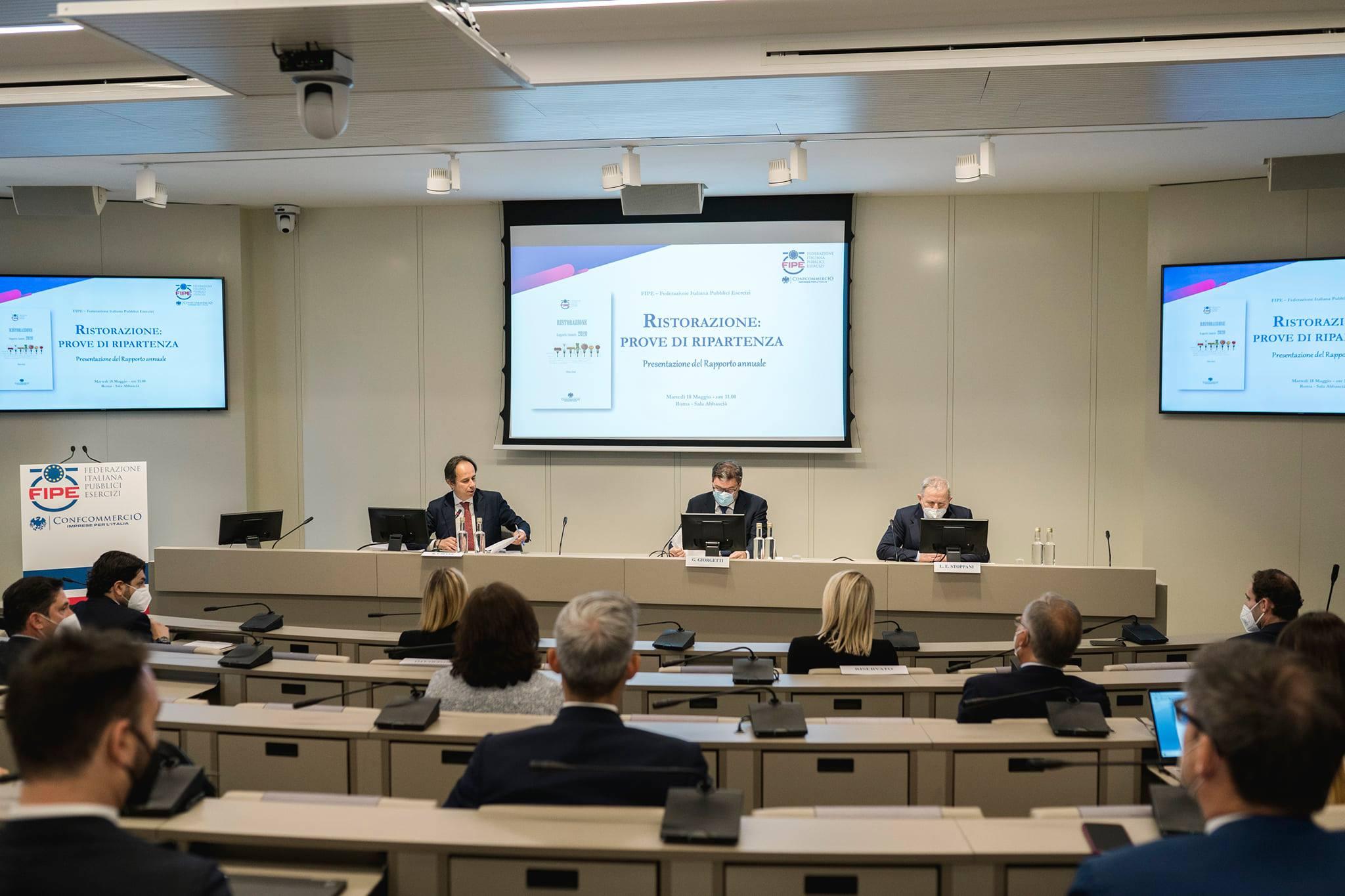 Conferenza stampa FIPE per presentazione Sindacato