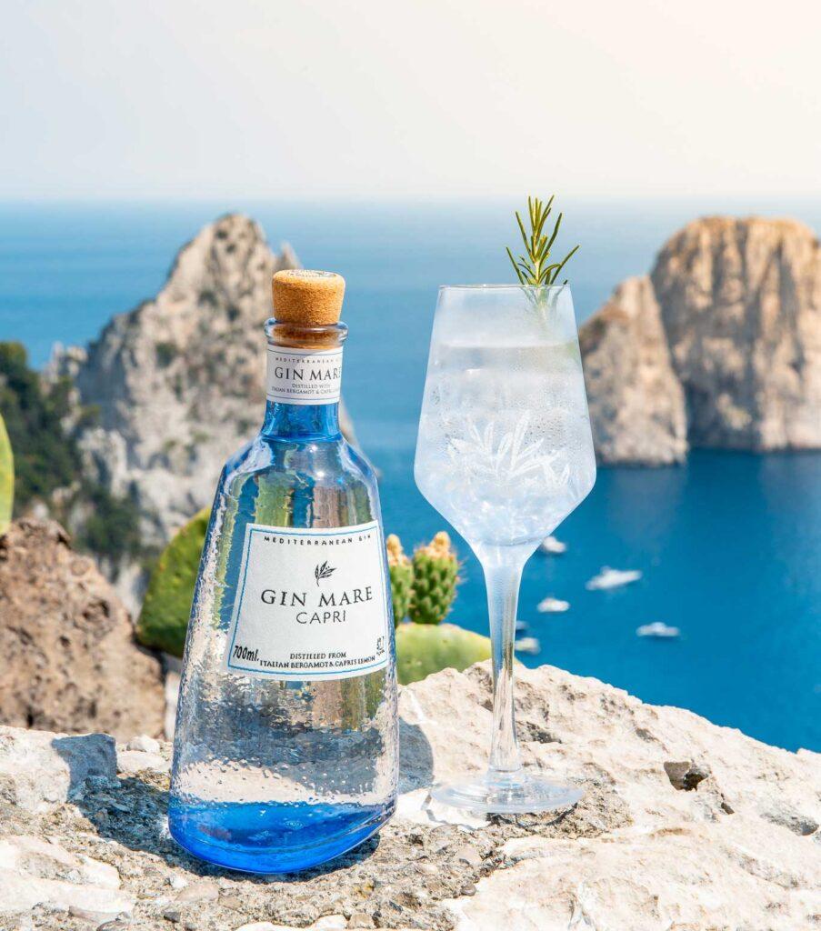 Gin Mare Capri sfondo mare