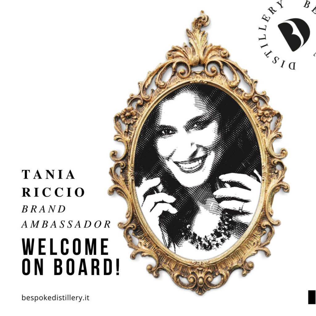 Tania Riccio, brand ambassador della Bespoke Distillery