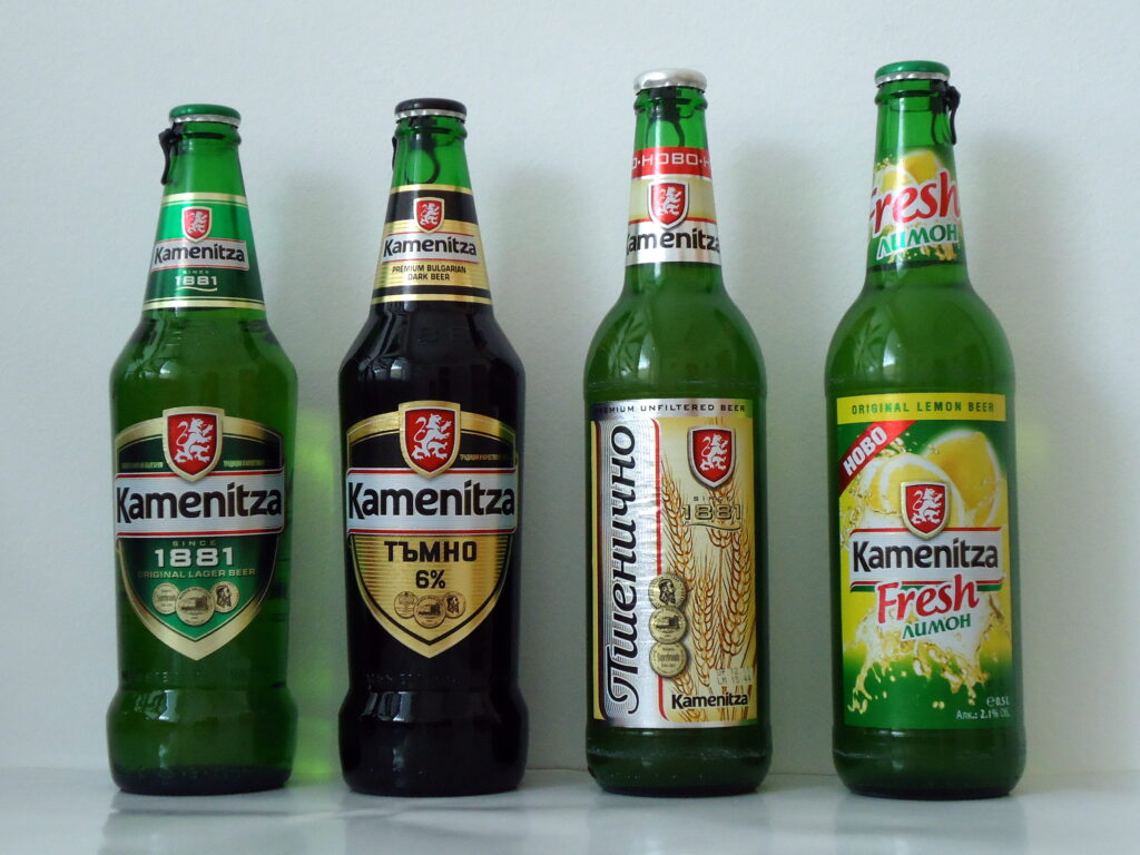 Kamenitza beer