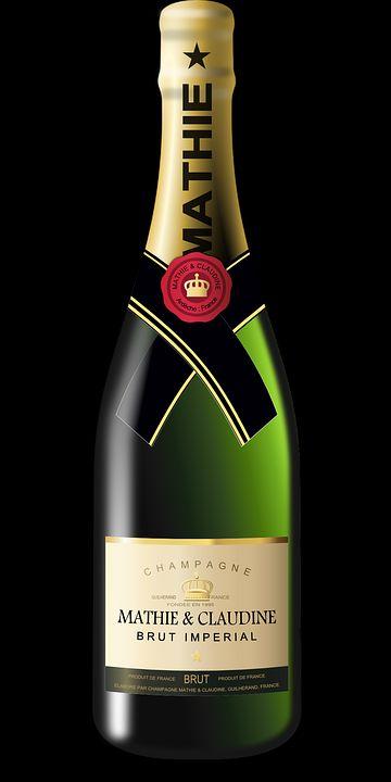 bottiglia champagne