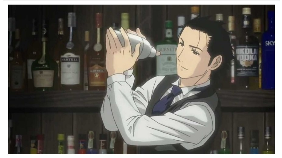 cocktail food manga