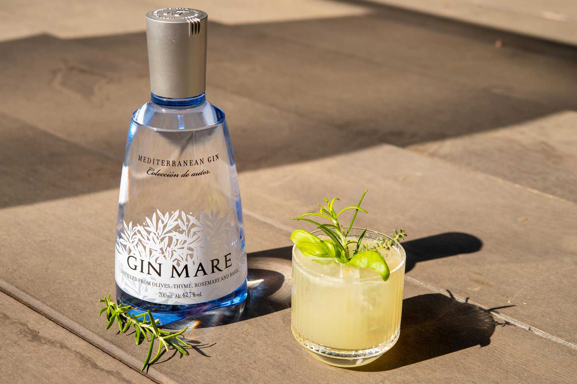 Mediterranean Smash, cocktail Gin Mare
