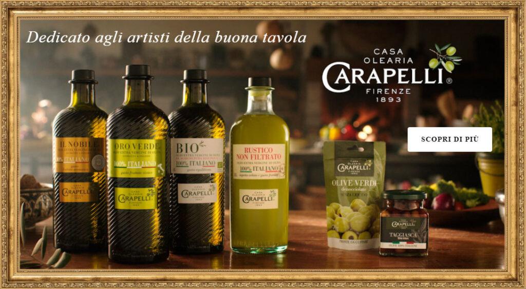 Bottiglie Olio Carapelli