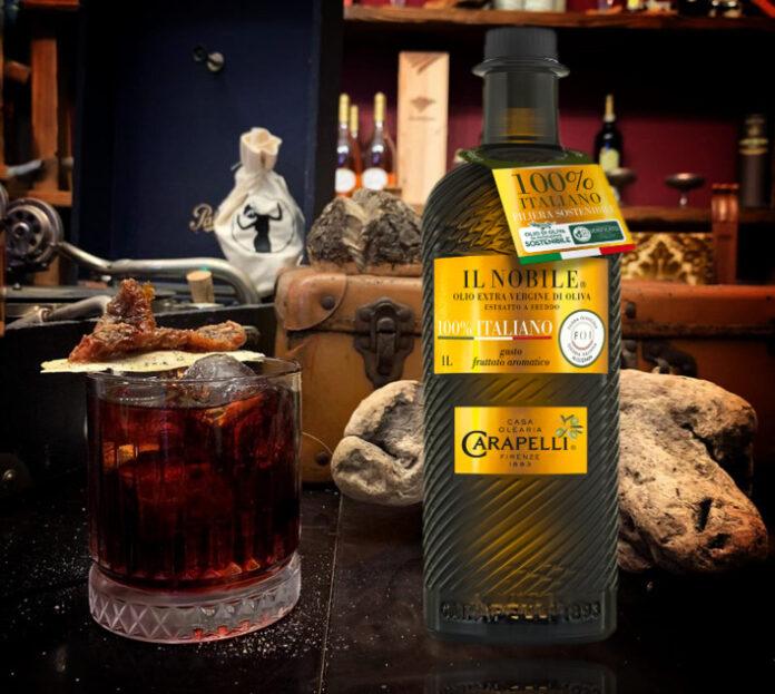 Aged Rasty Oil cocktail