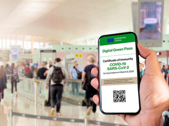 Green Pass Smartphone