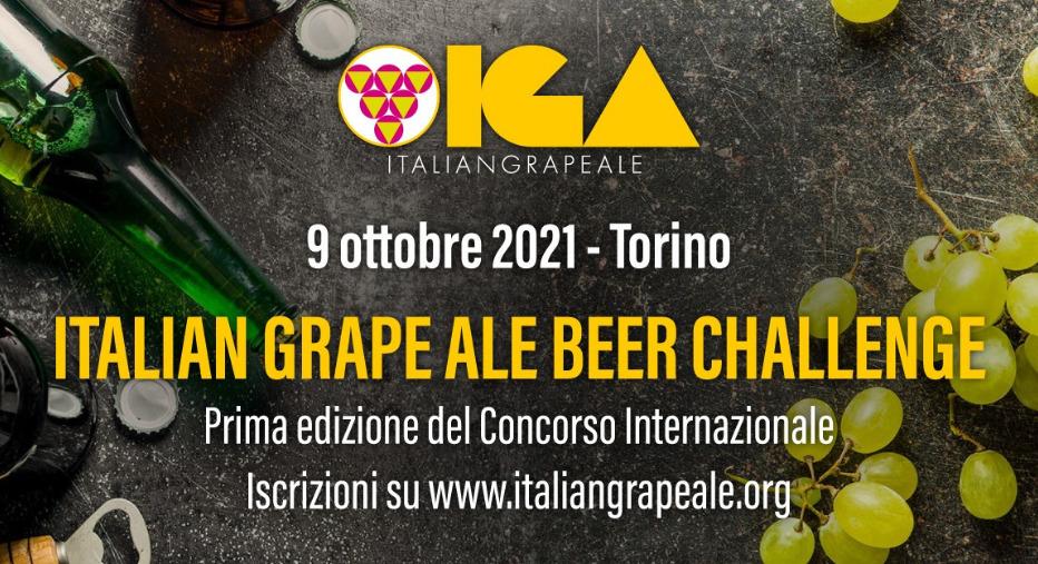 Concorso Italian Grape Ale l'IGA Beer Challenge