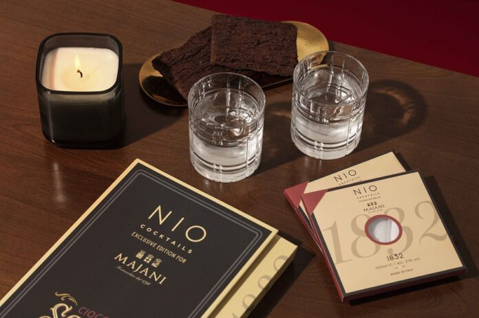 Box NIO cocktails per Majani