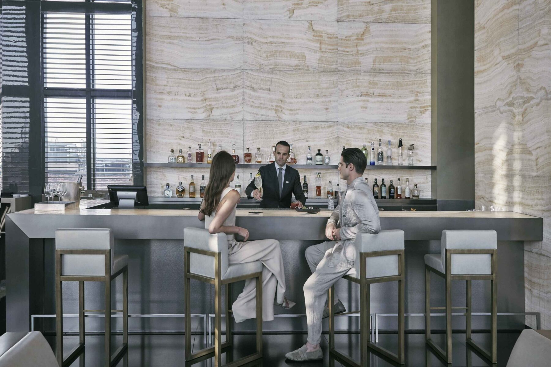 Armani/Bamboo Bar, milano skyline collection