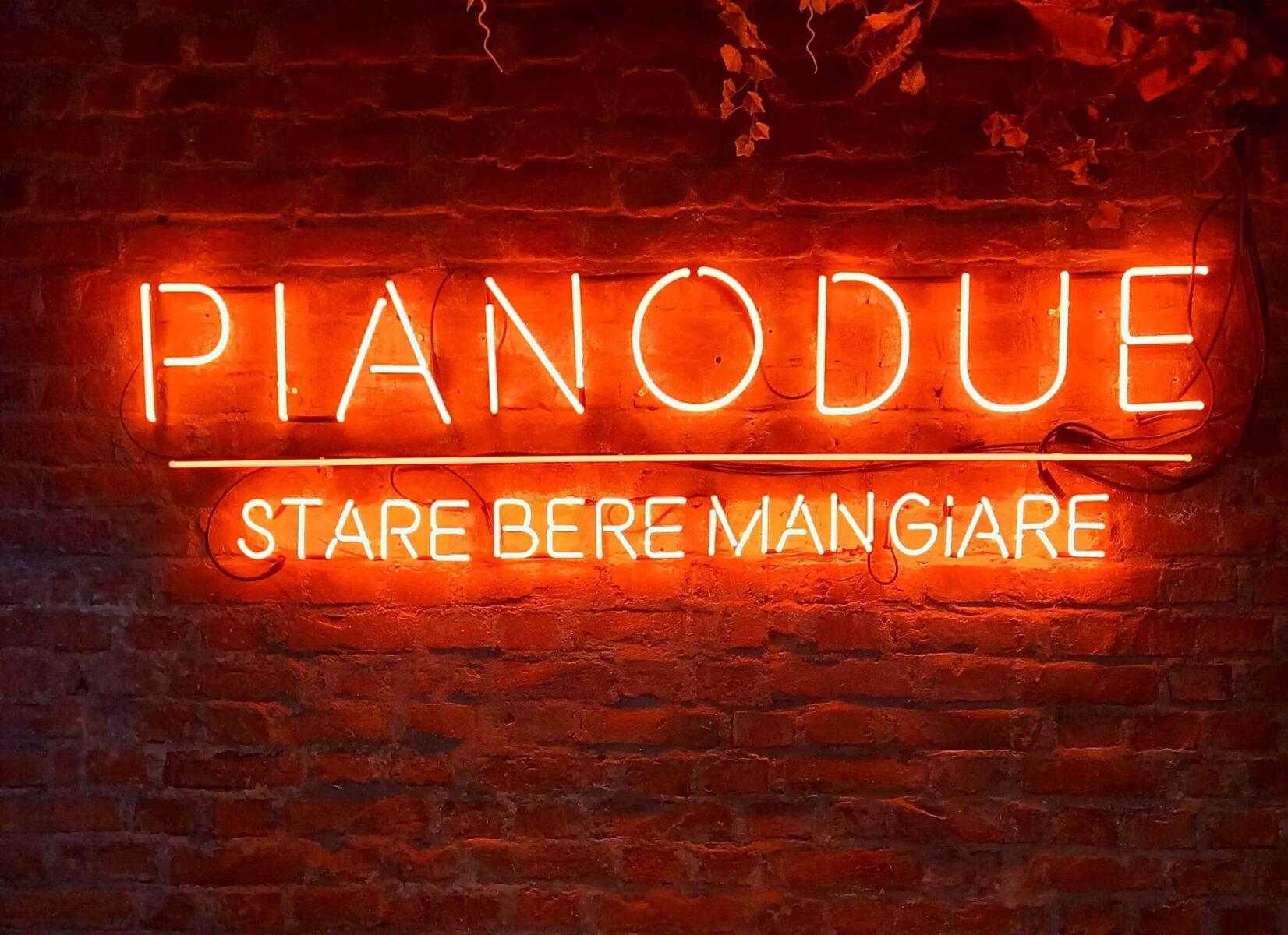 Pianodue, ristorante Eataly Milano Smeraldo