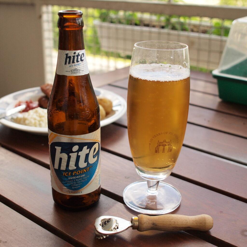 Hite, birra Corea del Sud